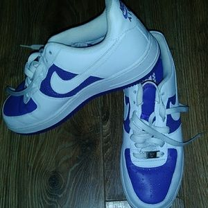 Shoes - Authentic Air force ones. Hard to find purple